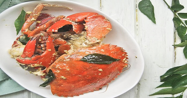 Malaysian Butter Crabs Recipe