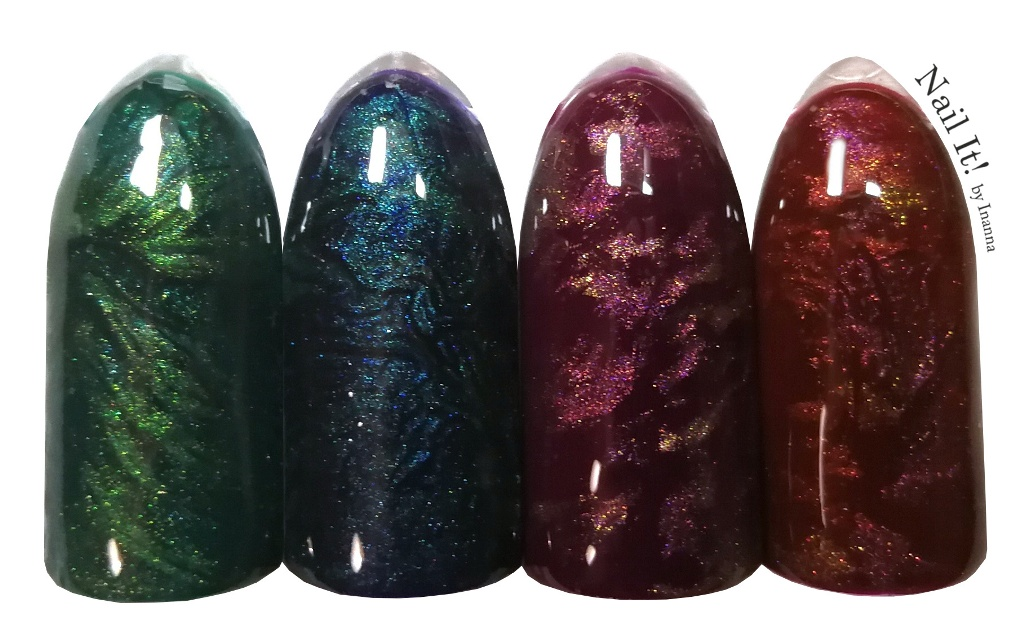 Fantasy Texture Nail Art - TUTORIAL