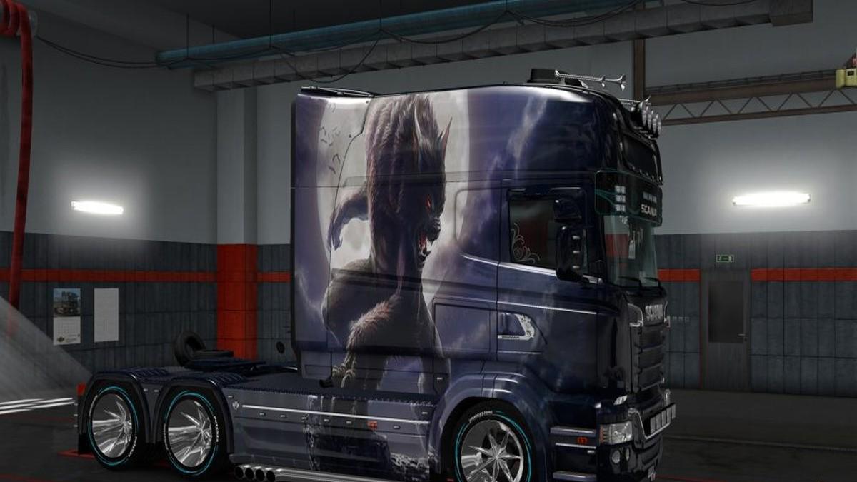 Oboroten v1 Skin Scania RJL