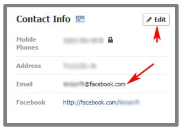 How do i change my login email in facebook