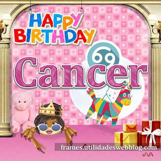 Imágenes de cumpleaños del signo Cancer