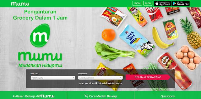 Alasan Berbelanja di Super market Online Mumu