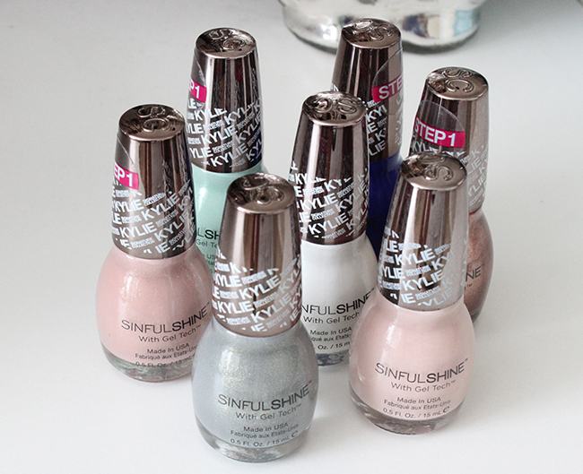 SinfulColors Kylie Jenner King Kylie Nail Polish Collection ...