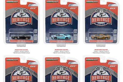 Greenlight Ford GT Heritage Series 1