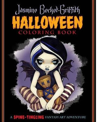 Halloween coloring book Jasmine Becket-Griffith