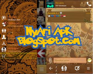 Download BBM Mod Tema Batik Versi 3.0.1.25 Apk