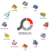 تحميل برنامج تركيب الصور على الصور المجاني للكمبيوتر photoscape free download