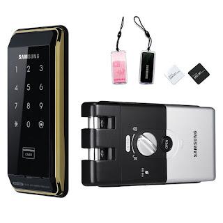 Khóa cửa điện tử Samsung đồng hành cùng gia đình bạn
