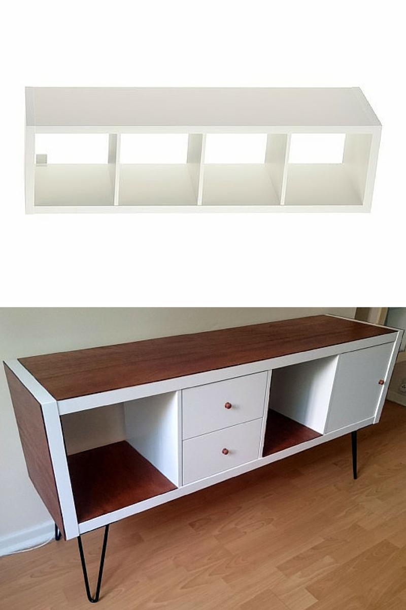 Ikea hacks que te sorprender n decoshabby - Mesa aparador ikea ...