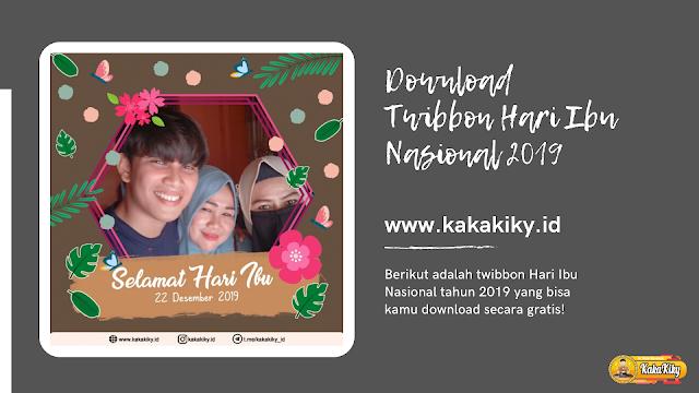 download twibbon dan bingkai foto hari ibu nasional 2019