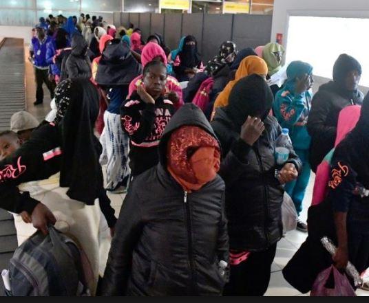 127 Ghanaians repatriated from Libya