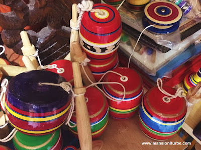 Mexican Crafts toys in Pátzcuaro