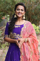 Actress Shraddha Srinath in Purple Chania Choli Cute Pics ~  Exclusive 64.jpg