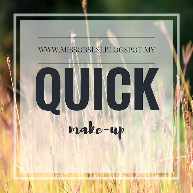 Blusher & Lipstick antara Alat Wajib Untuk Quick Make-up yang Cantik