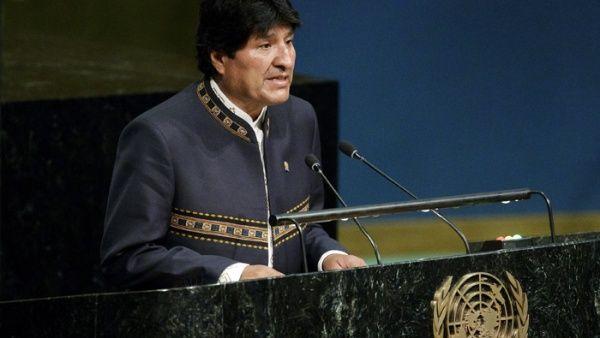 Morales: Dos tercios de las personas vivirán sin agua en 2025