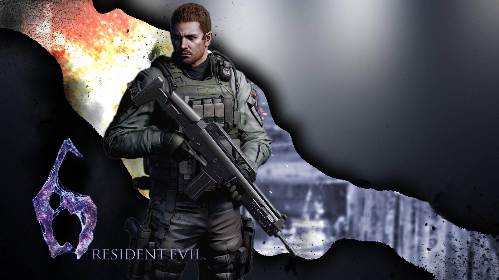 Rendered Bits: Resident Evil 6 Wallpaper