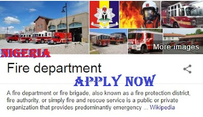 2018 Nigeria Federal Fire Service Recruitment | FFS Job Available Online
