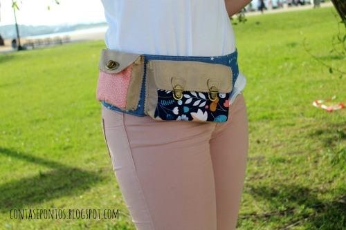 cinto com bolsa / belt bag