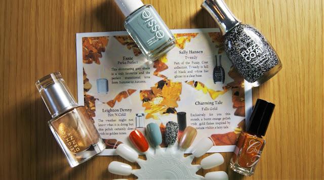 Coloristiq October Box Nail Varnishes