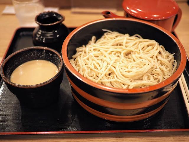 長野駅 MIDORI 草笛 くるみ蕎麦