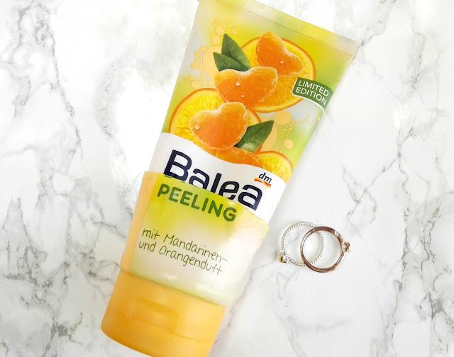 Balea Peeling mit Mandarinen- und Orangenduft