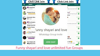 Funny shayari and love unlimited fun Groups