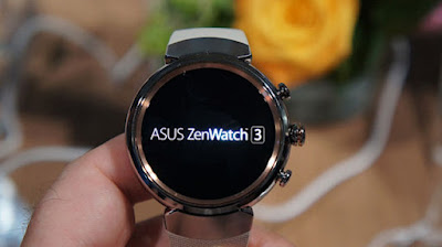 Review Asus ZenWatch 3 Smartwatch Terbaru