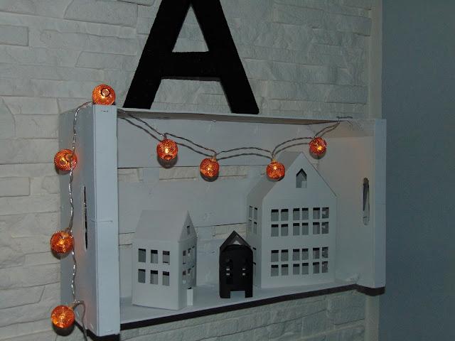 dekoracyjne domki z papieru