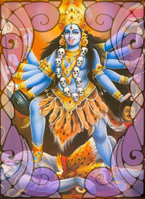 Illustration of Kali | Wicca, Magic, Witchcraft, Paganism