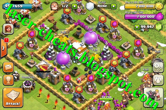 clash of clans cheats proof