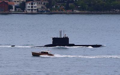 TΩΡΑ ΚΑΙ Τουρκικά υποβρύχια σε ολόκληρο το Αιγαίο!