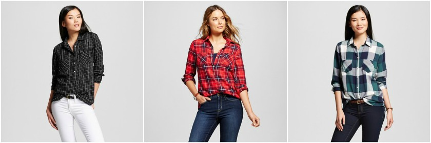 Merona Plaid Favorite Shirt $18 (reg $23)