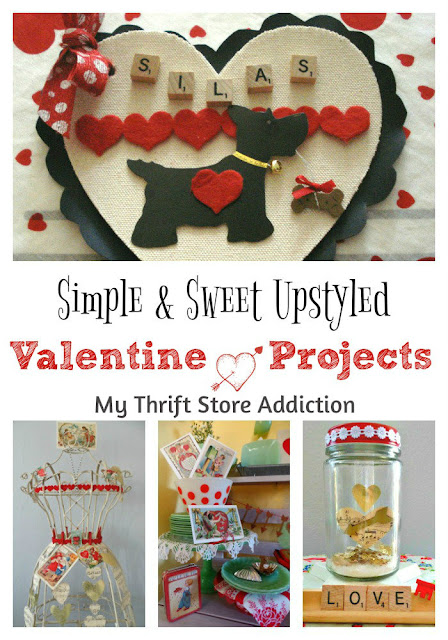 Simple and sweet upstyled valentines