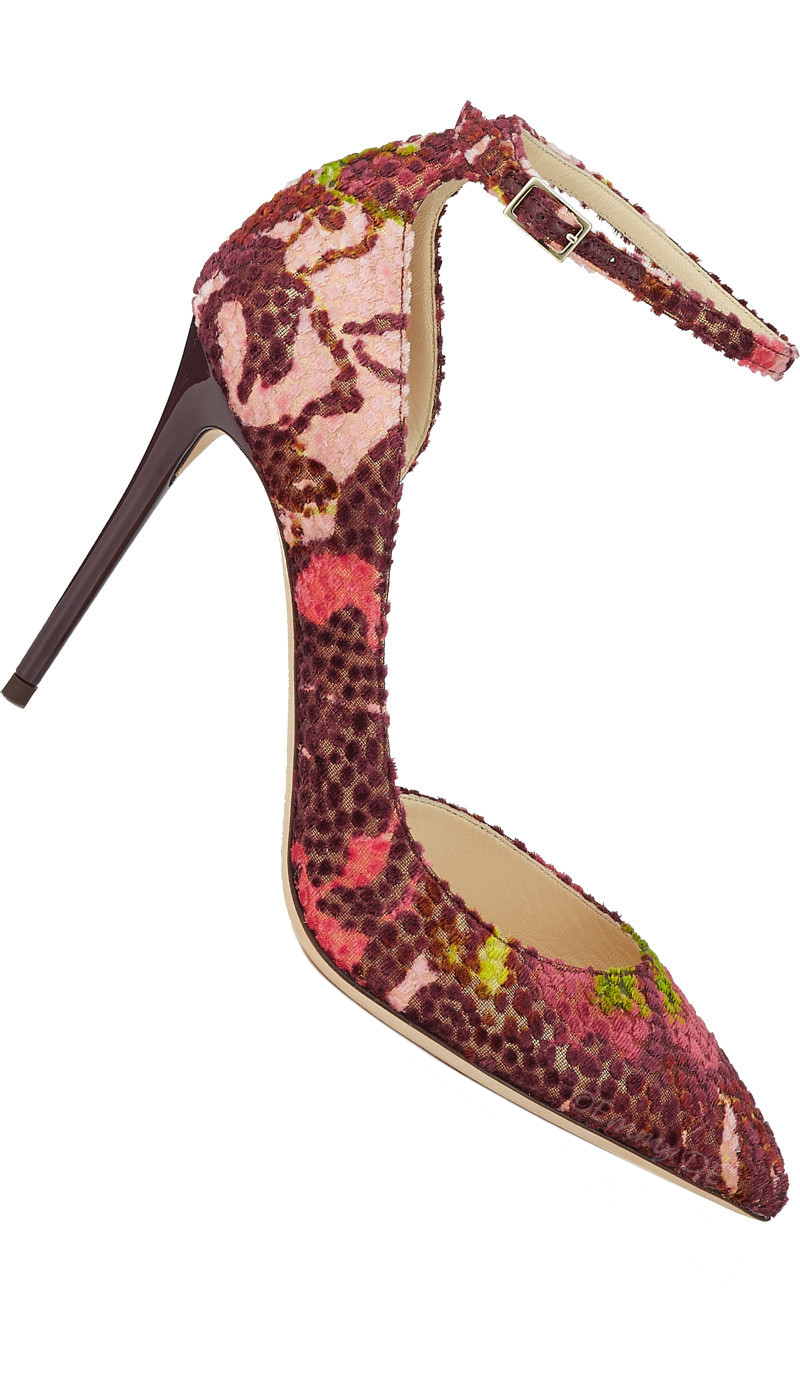Brilliant Luxury ♦ Jimmy Choo Lucy Pointed-Toe Pump