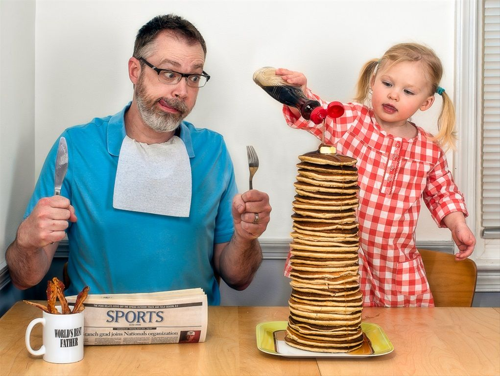 "Super Funny ""World's Best Father"" Photo Series of Dave Engledow"