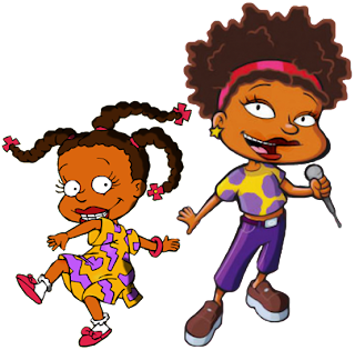 Susie Carmichael from Rugrats