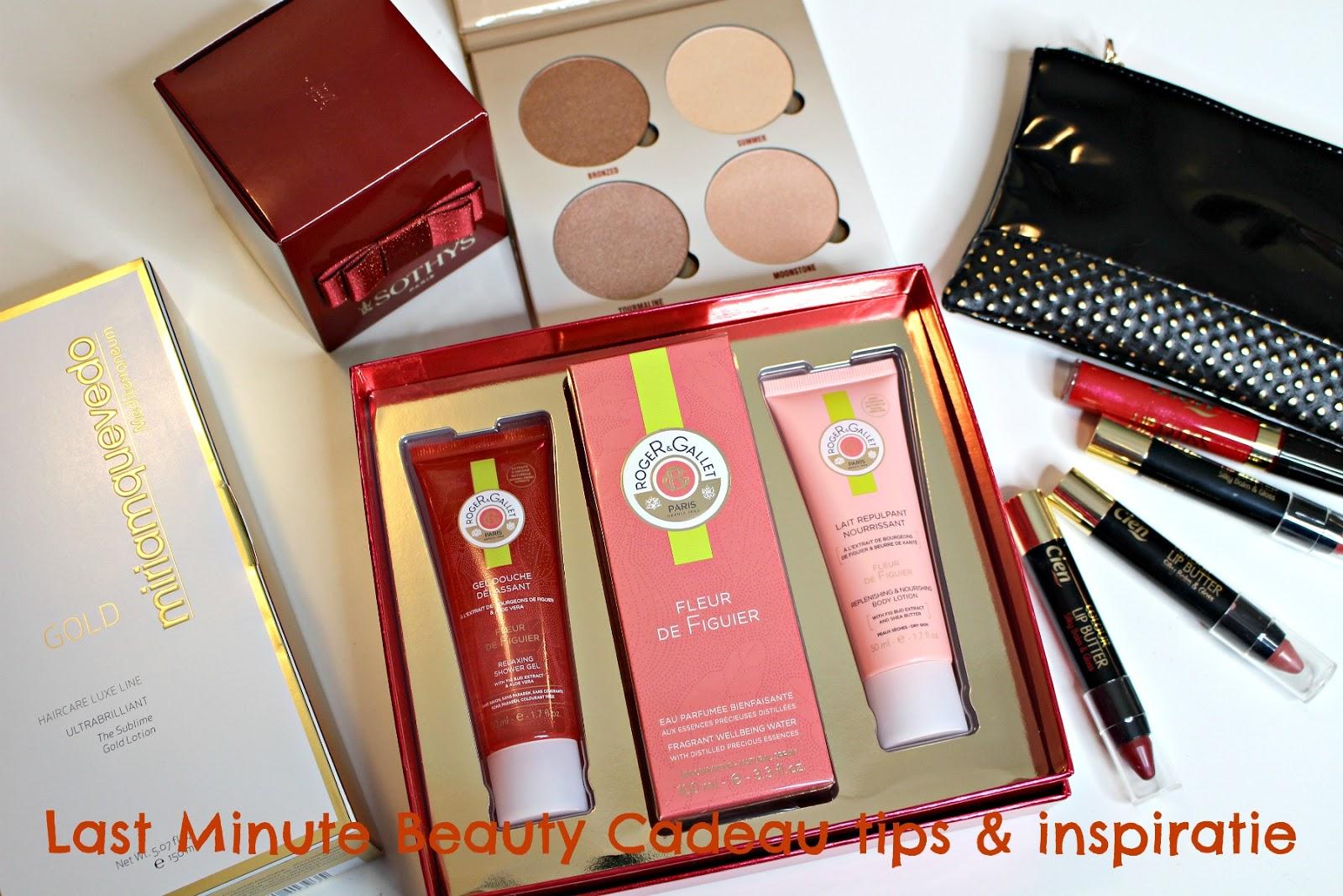last minute beauty cadeaus en tips