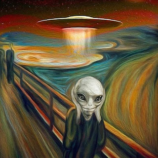 Alien dreaming sarcastic profile picture
