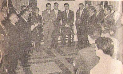 Apertura del XVIII Campeonato de España 1957