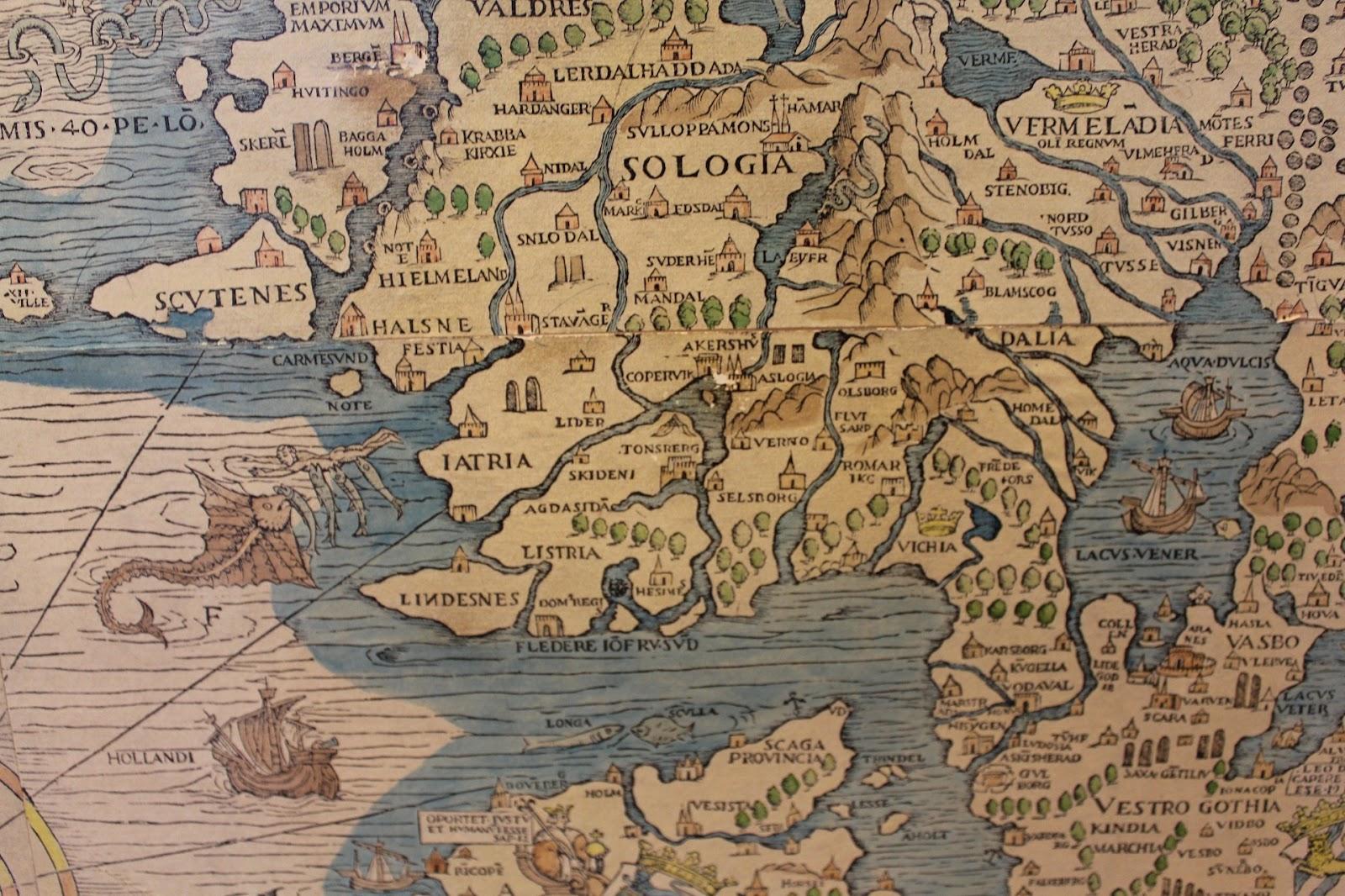 gammelt kart oslo Sukkerrør: En vanlig uke i Bergen, del 3/3 gammelt kart oslo
