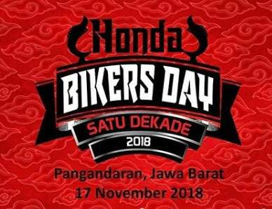 1 Dekade Honda Bikers Day