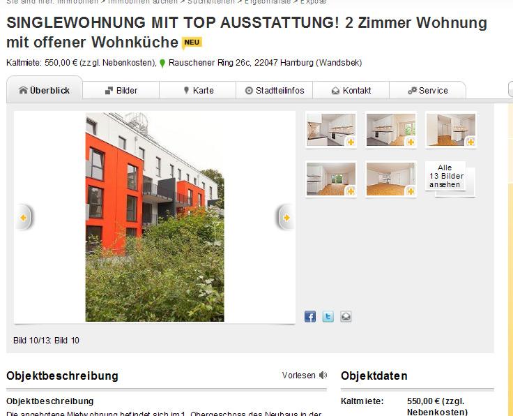 Wohnungsbetrug.blogspot.com: SINGLEWOHNUNG MIT TOP