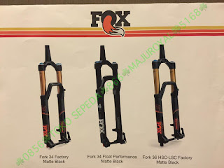 Spesifikasi Fork Rear Shock Seatpost FOX 2017 5