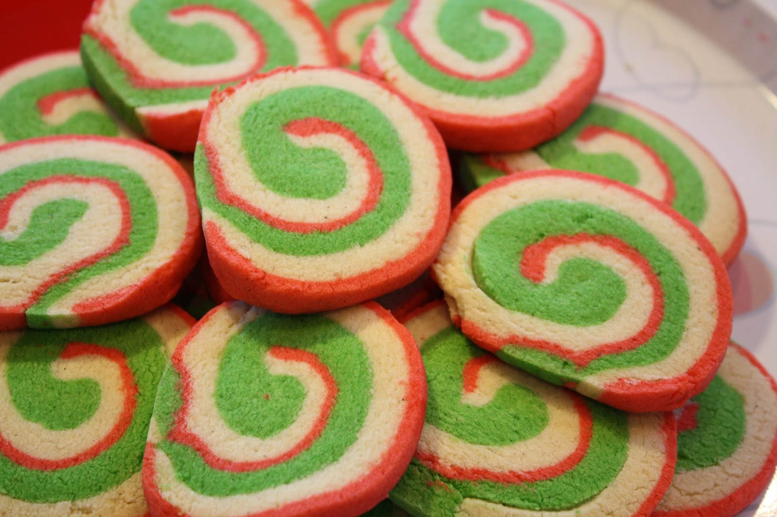 Christmas Pinwheel Cookies.Gluten Free Christmas Pinwheel Cookies