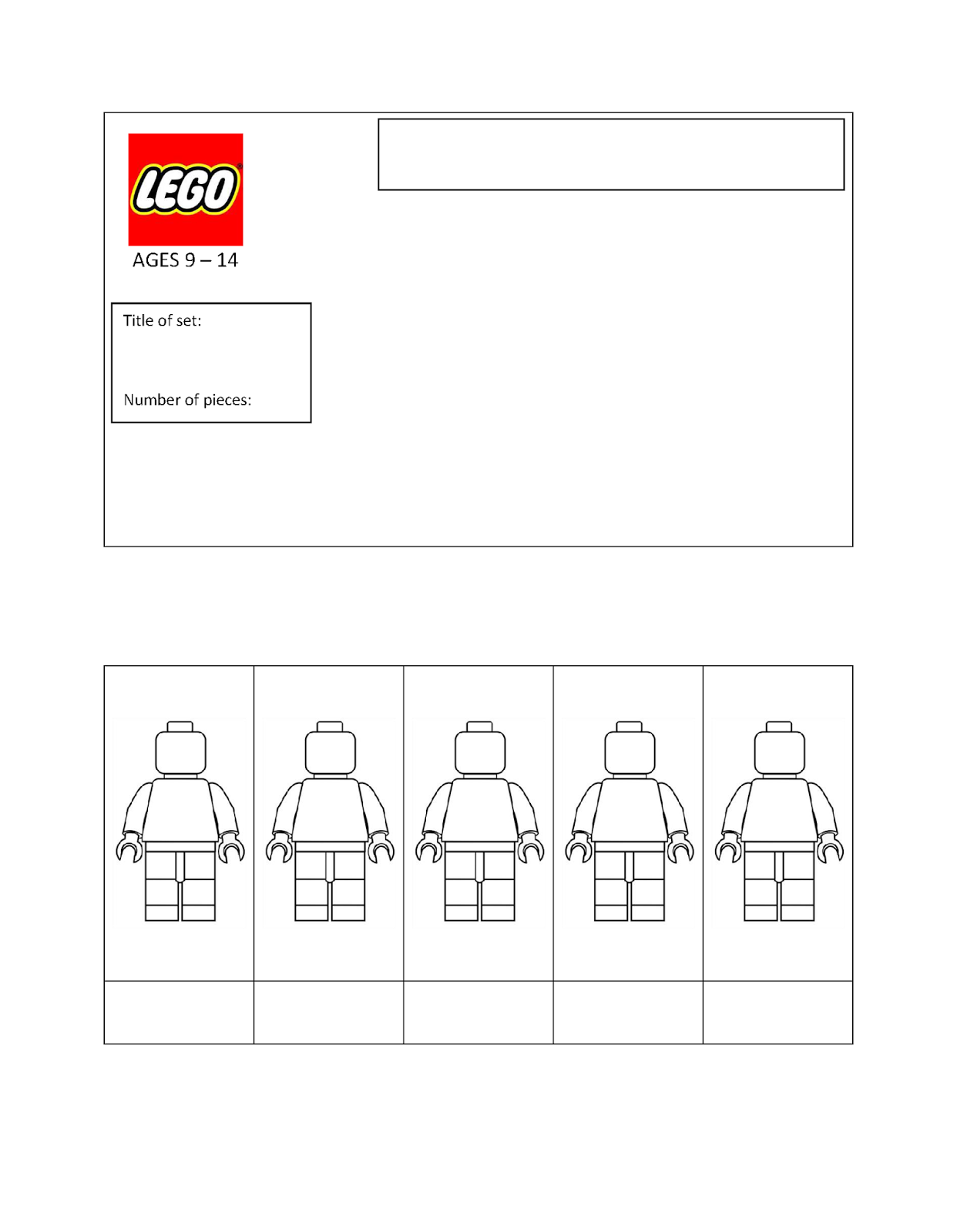 Quinn Rollins Play Like A Pirate LEGO Templates
