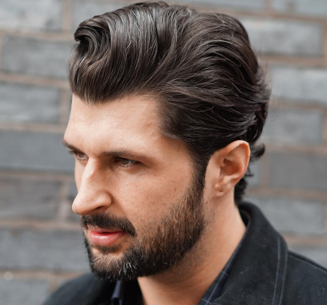 12 best slicked back hair styles for men | hairstyles and haircare
