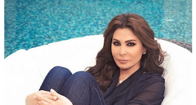 النجمة اللبنانية اليسا تتعرض للاغماء خلال احيائها حفلا بمدينة دبي الإماراتية