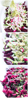 beets and cucumber salad