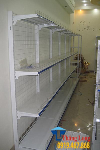 Kệ đơn siêu thị D900 x C1200 x R350