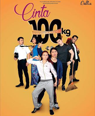 Tonton Online Drama Cinta 100 KG Full Episod
